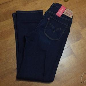 NWT Levi's 505 Straight Leg Jeans